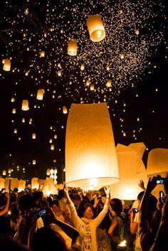 #Inspiration #BucketList #FestivalLoyKrathong #Thailande #Lumière