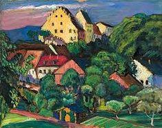 Gabriele Munter Landschaft of Murnau