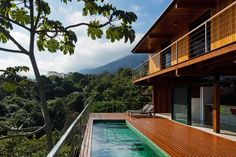 Casa Embaúba (Ilhabela, Brazil) project by architect Flavia Cancian #beachhouse