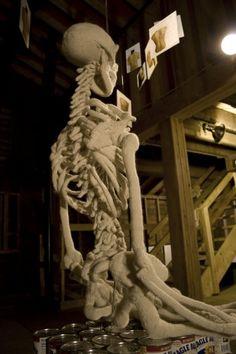 Ben Cuevas Skeleton Back