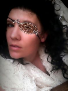Hey, I found this really awesome Etsy listing at https://www.etsy.com/listing/226626440/steampunk-filigree-wire-eyepatch