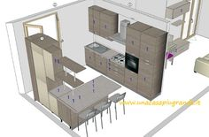 Kitchen Room Design, Holidays And Events, Floor Plans, Interior Design, Bed, Furniture, Home Decor, Ideas, Houses