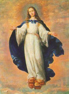 Francisco de Zurbaran Immaculate Conception 3 - Arte mariano - Wikipedia, la enciclopedia libre