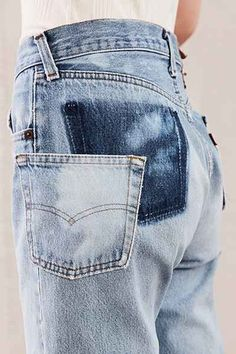 CUte and easy #diy #repurposed denim idea.