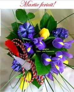 Spring Time, Iris, Floral Wreath, Wreaths, Traditional, Halloween, Plants, 8 Martie, Decor