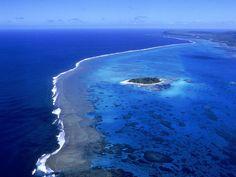 Managaha Island in the lagoon at Saipan, Commonwealth of the Northern Mariana Islands