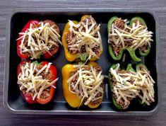 Papryka faszerowana - Blog z apetytem Appetizer Recipes, Dinner Recipes, Appetisers, Baked Potato, Zucchini, Spaghetti, Food And Drink, Mexican, Potatoes