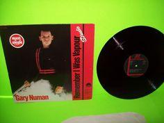 "Gary Numan – Remember I Was Vapour Live/Studio 1980 Vinyl 12"" Synth-pop RARE EX #DowntempoElectronicaExperimentalAvantgardeSynthPop"