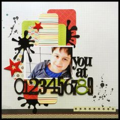 #papercraft #scrapbook #layout.  ScrapFX Challenge