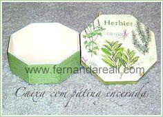 Caixa de Madeira Pintada - Faça Hoje! - Fernanda Reali