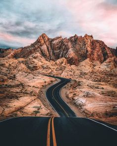 "The World's Greatest Roads on Instagram: ""The hills are on fire  : @alex.svd : Valley of Fire, Nevada : Tag your road trip team below! . . . #valleyoffire #nevada…"""