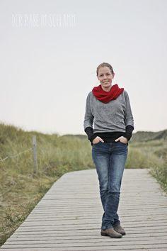 Der Rabe im Schlamm: Frau Madita an der Nordsee