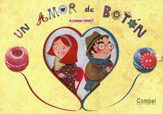 #Infantil / Diseño e Ilustración UN AMOR DE BOTON - Pauline Carlioz #Combel