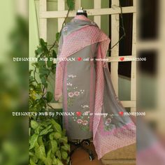 Fabric Paint Shirt, Fabric Painting, Block Painting, Embroidery Suits Punjabi, Embroidery Suits Design, Cutwork Embroidery, Embroidery Dress, Sleeves Designs For Dresses, Sleeve Designs