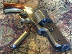 Last year I picked up and Armi San Marcos Walker Reproduction, and over the winter converted it to fire metallic cartridges. I bobbed the barrel at. Weapons Guns, Guns And Ammo, Messer Diy, Single Action Revolvers, Hunting Rifles, Cool Guns, Le Far West, Old West, Firearms