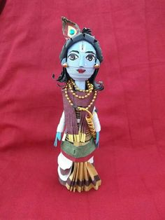Quilled krishna..comical form.. love it