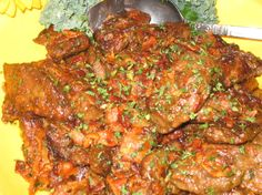 I know, I know, some of you cant tolerate liver but for those of us that love it try this recipe! The liver comes out crisp and has a wonderful flavor with just a hint of lemon. Even kids have been known to like it. Substitute Chicken livers if you wish.