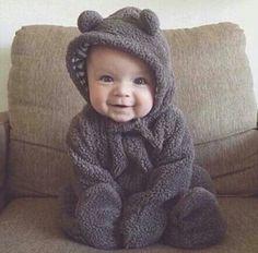 Cutie. Little honey bear junior