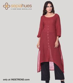 #trendy #sepihuesclothing #clothing #brand #sepihues #fashion #apparel#design #fusion Shop Ladies latest fashion dresses @ INDETREND.com