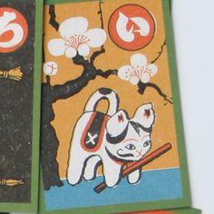 奥野かるた店 武井武雄 犬ぼう : 木のおもちゃ がりとん(galiton)
