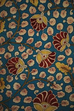 Saree Painting, Kalamkari Painting, Fabric Painting, Madhubani Art, Madhubani Painting, Kalamkari Fabric, Kalamkari Designs, Indian Folk Art, Art Deco Pattern