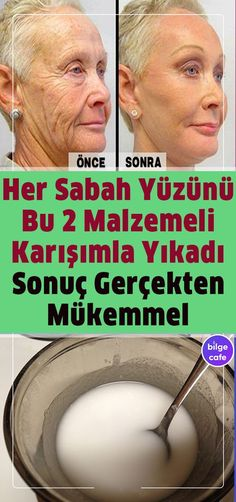 Uyandığınızda Yüzünüzü 2 Malzemeli Karışımla Yıkayın 5 Dakikadan F Beauty Care, Beauty Hacks, Hair Beauty, Beauty Skin, Fitness Diet, Health Fitness, Bio Vegan, Les Rides, Natural Health Remedies