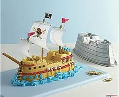 Groom - Pirateship cake