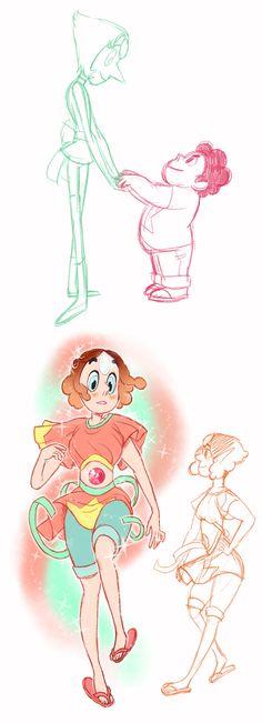 Steven Universe & Pearl