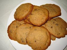 Banana and Chocolate Chip cookies 2011 - first baking