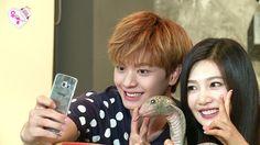 "BTOB Sungjae Cheers Red Velvet Joy Up on ""We Got Married"" and Kangin and Amber Visit   Koogle TV"