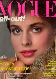 Nastassjia Kinski covers Vogue Magazine ( United States) October  1981