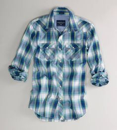 Vintage snap western shirts. Especially men's. I love the way they fit better than women's and they have way better patterns.