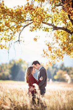 Romantic autumn engagement #engagement #wedding http://www.roughluxejewelry.com/