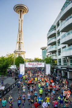 Participants hit the Pavement at Rock 'n' Roll Seattle Marathon & 1/2 Marathon - Competitor.com