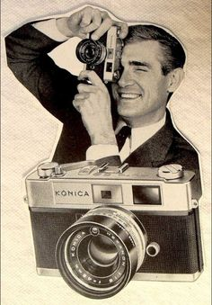 Konica ad from the 1960s.