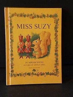 SOLD   Miss Suzy vintage 1964 Parents Magazine Press HC Children's Book Squirrel