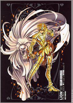 Aioria - Saint Seiya Sacred Saga Artbook