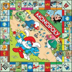 MONOPOLY: The Smurfs Collector's Edition | USAopoly