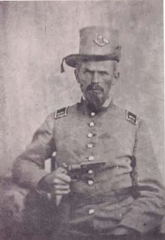 "Capt David Williams Co. K (the ""Holly Shelter Volunteers""), NC Infantry. Williams was disembowelled by a shell, early morning, in the vicinity of the Mumma farm. His wife took to bed after hearing the news and died. Confederate States Of America, Confederate Leaders, Confederate Monuments, American Civil War, American History, Battle Of Antietam, Southern Heritage, Civil War Photos, Us History"