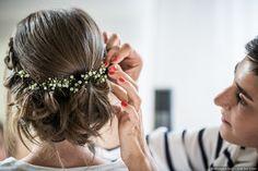 35 coiffures de mariage avec du gypsophile