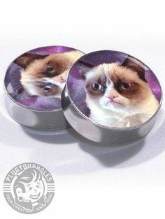 Grumpy cat plugs!!!