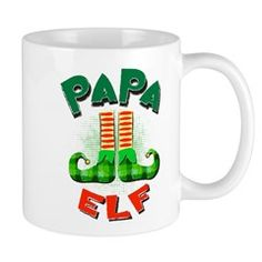 Elf, Bear Shop, Jingle Bells, Holiday Decorating, Seasonal Decor, Mugs, Coffee, Gifts, Design