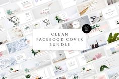 Clean Facebook Cover Bundle - Facebook - 1