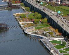 Riverside Park South Waterfront   New York   Thomas Balsley Associates