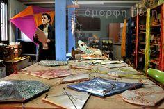 κεραμίστες, Σοφία Τριγώνη, sofia trigoni, ceramics, κεραμική, έλληνες κεραμίστες, χαρταετοί από πηλό