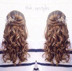 Stunning half up half down wedding hairstyles ideas no 94 – OOSILE