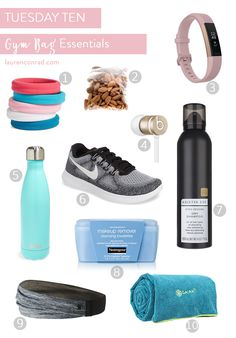 Heading to a workout? Read this first to perfectly stock your gym bag…