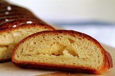 Braided Lemon Bread with lemon cream cheese filling