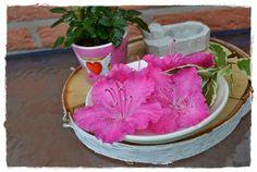 Die fabelhafte Welt der Seifenkunst - einfach ein paar Rhododendronblüten