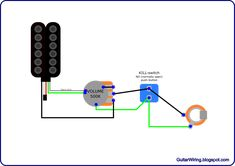the guitar wiring blog diagrams and tips guitar wiring a la rh pinterest com EVH Wolfgang Wiring EVH Pickup Wiring Diagram